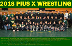 Pius Wrestling Team 2018